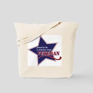 Proud Marine Corps Veteran Tote Bag