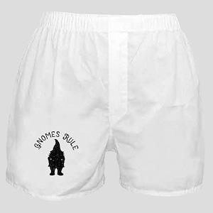 Gnomes Rule litRPG Gnome T-shirt Boxer Shorts