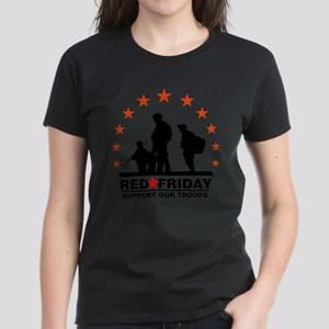 3 Troops/Red Friday Women's Cap Sleeve T-Shirt