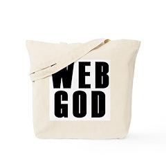 Web God Tote Bag