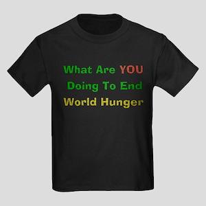 World Hunger Kids Dark T-Shirt