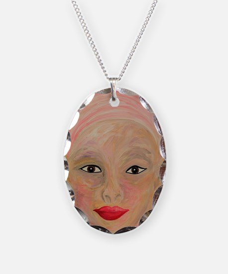 Cute Skin cancer Necklace