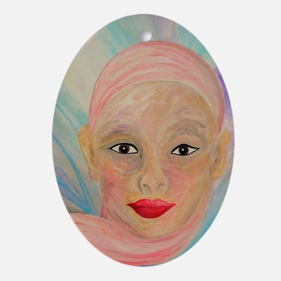 Unique Skin head Oval Ornament
