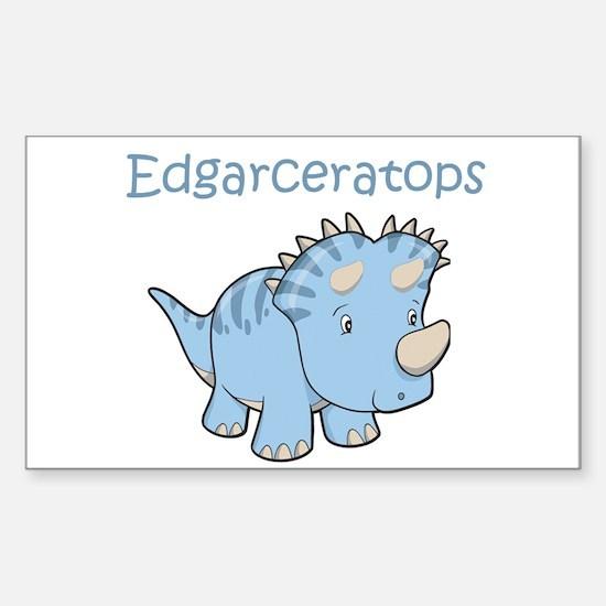 Edgarceratops Rectangle Decal