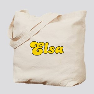 Retro Elsa (Gold) Tote Bag