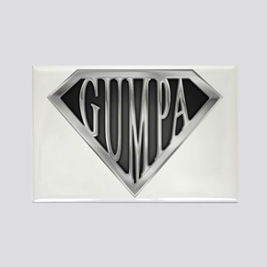 Super Gumpa - Metal Rectangle Magnet