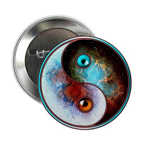 "Cosmic Tao 2.25"" Button"