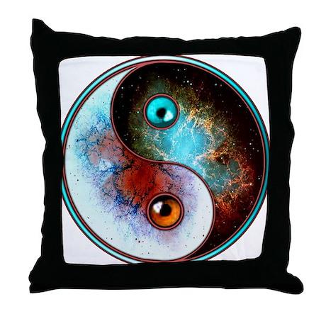 Cosmic Tao Throw Pillow