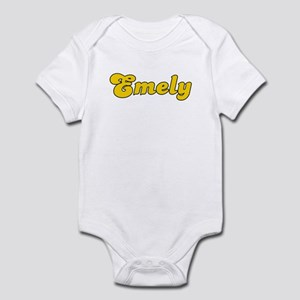 Retro Emely (Gold) Infant Bodysuit