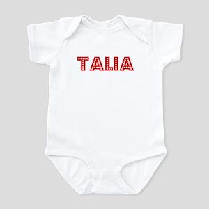 Retro Talia (Red) Infant Bodysuit