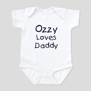 Ozzy loves daddy Infant Bodysuit