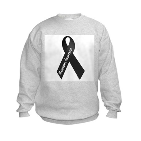 Melanoma Awareness 1 Kids Sweatshirt