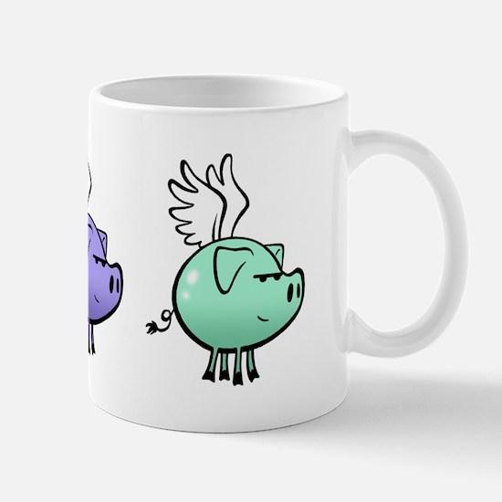 Skuzzo Flying Pig Mug