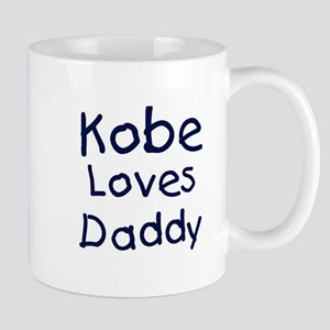 Kobe loves daddy Mug