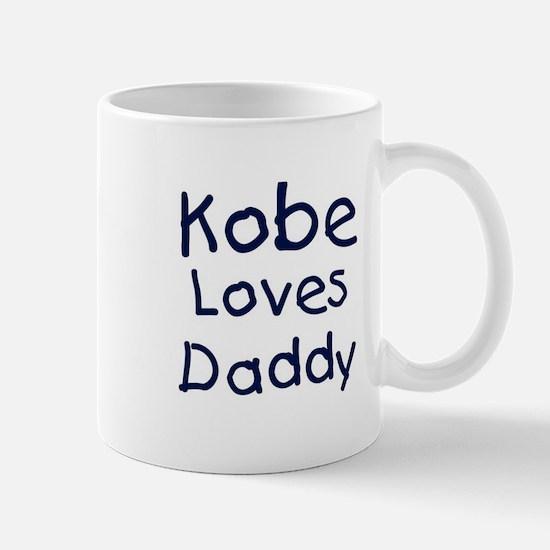 Kobe loves daddy Mug