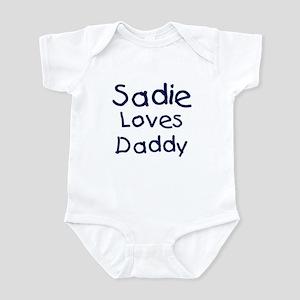 Sadie loves daddy Infant Bodysuit
