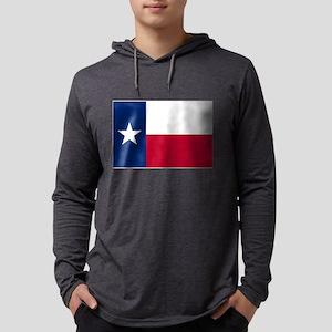 Texas State Flag Long Sleeve T-Shirt