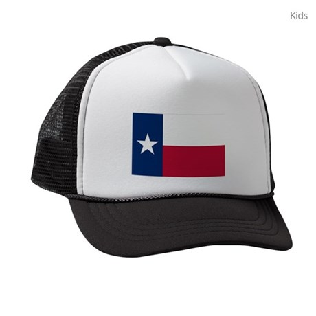 045346ac8bfc9 ... discount code for texas state flag kids trucker hats cafepress a2a54  9359b