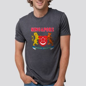 Singapore Coat Of Arms Designs T-Shirt
