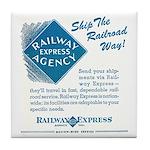 Railway Express Tile Coaster