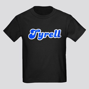 Retro Tyrell (Blue) Kids Dark T-Shirt