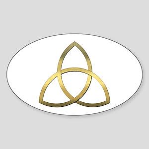 Trinity Oval Sticker