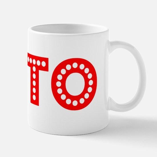 Retro Tito (Red) Mug