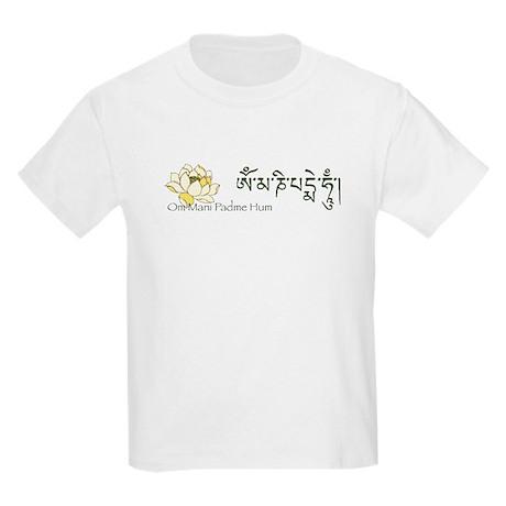Om Lotus Mantra Kids T-Shirt