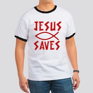 Jesus Saves! Ringer T