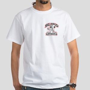 Blind Squirrel White T-Shirt