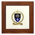 GUERRETTE Family Crest Framed Tile