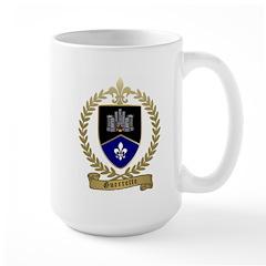 GUERRETTE Family Crest Large Mug