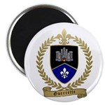 "GUERRETTE Family Crest 2.25"" Magnet (100 pack"