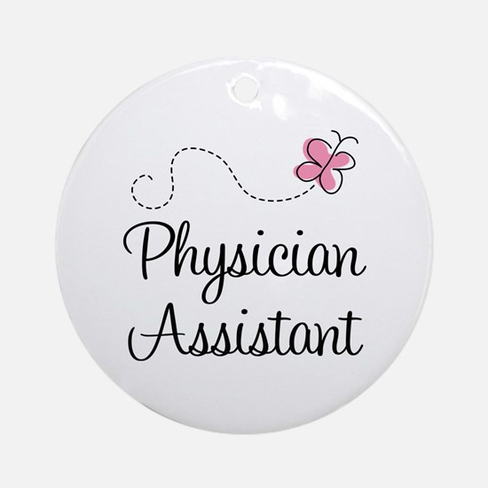 Physician Assistant Ornament (Round)