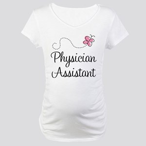 Physician Assistant Maternity T-Shirt