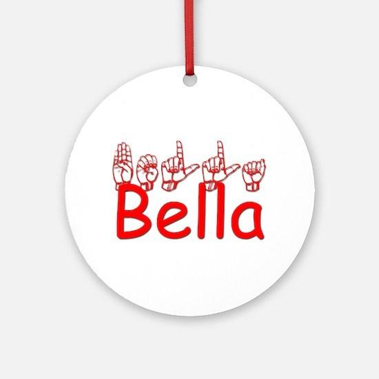 Bella Ornament (Round)