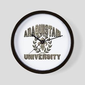 Araquistain Family Name University Wall Clock
