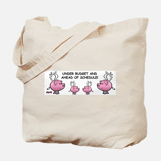 Skuzzo Flying Pig Tote Bag