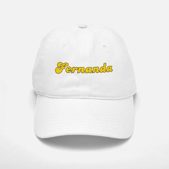 Retro Fernanda (Gold) Baseball Baseball Cap