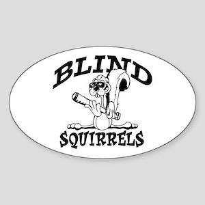BS Old School Oval Sticker