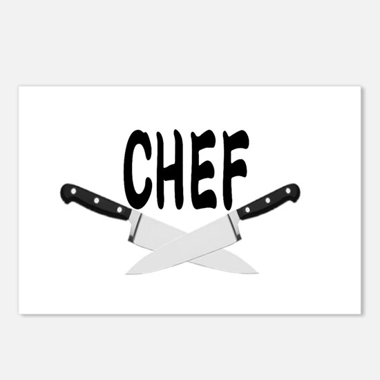 CHEF Postcards (Package of 8)