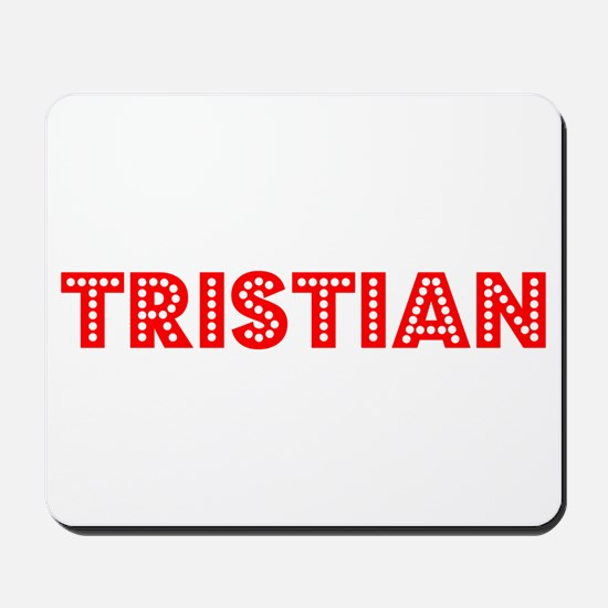 Retro Tristian (Red) Mousepad