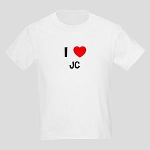 I LOVE JC Kids T-Shirt