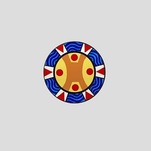 UCTP TAINO LOGO Mini Button