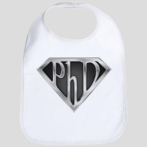 Super PhD - metal Bib