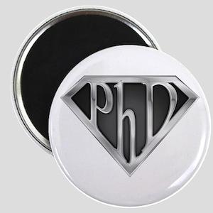 Super PhD - metal Magnet