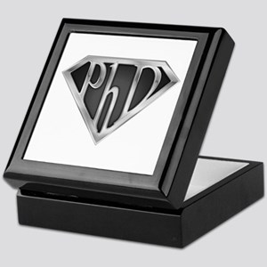 Super PhD - metal Keepsake Box