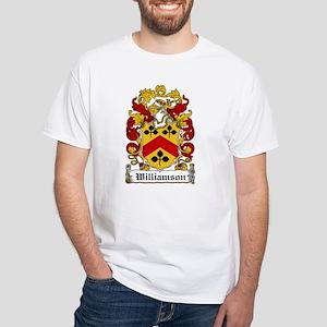 Williamson Family Crest White T-Shirt