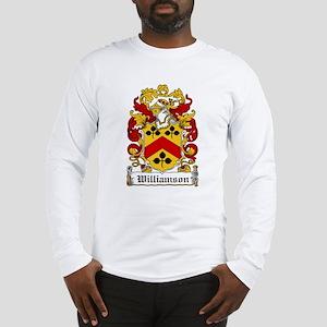 Williamson Family Crest Long Sleeve T-Shirt