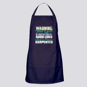 This Girl Is Protected By Good Lord A Apron (dark)